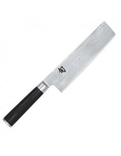 "Cuchillo Nakiri 16,5 cm (6,5"""") KAI SHUN DAMASCO DM-0728"