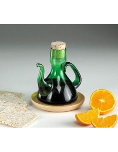 Aceitera con asa Vidrafoc mod. Clasica color Verde 250 ml