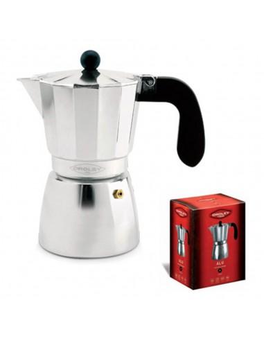 Cafetera Oroley Aluminio para Gas y Vitro