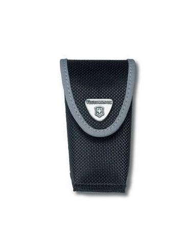 Estuche negro para cinturón, nylon, cierre velcro - de 2 a 4 capas