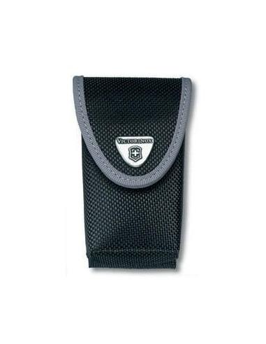 Estuche negro para cinturón, nylon, cierre velcro - de 5 a 8 capas