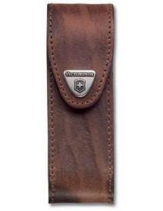 Estuche para cinturón piel marrón, para multiherramientas bloqueables