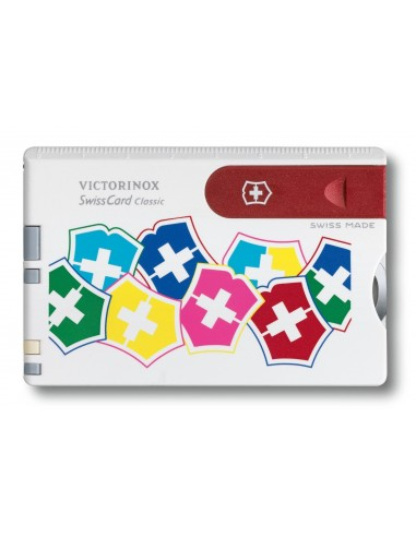 Tarjeta multifuncion Victorinox Swiss Card VX Colors