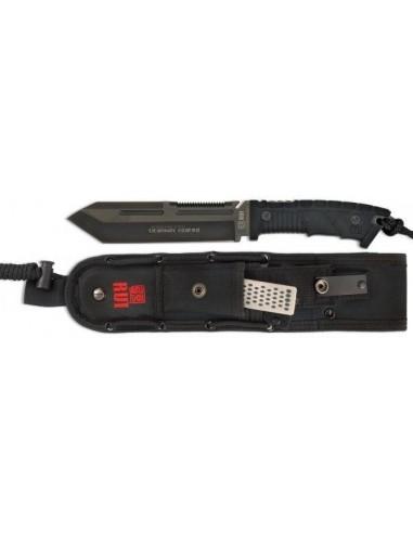 cuchilloRUI.Puño SLF rubber/hoja440titanioC 16.5cm