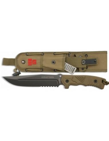 Cuchillo Tactico RUI puño coyote SFL 17 cm