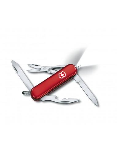 Navaja Suiza Midnite Manager, 10 func.s con boligrafo y LED (0.6366)
