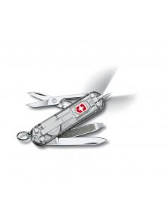 Navaja Suiza Signature Lite Silver Tech, 7 func. con boligrafo y LED