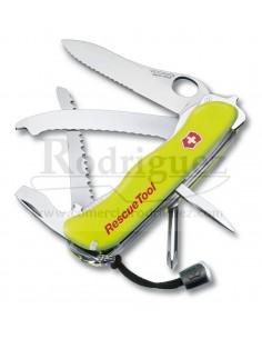 Navaja Suiza Victorinox Rescue Tool, 14 funciones (0.8623.MWN) color fluorescente