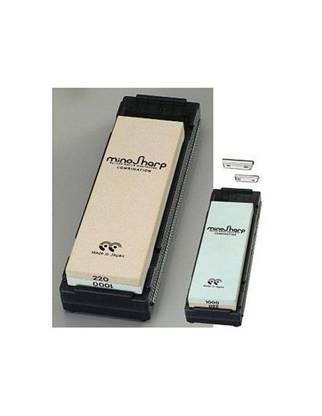 Piedra minoSharp Doble cara (220gr+1000gr)