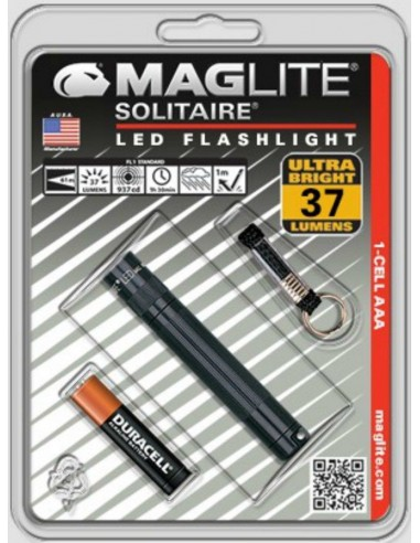 MAGLITE SOLITAIRE LED NEGRO BLISTER