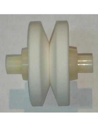 Rueda de ceramica blanca minoSharp 444