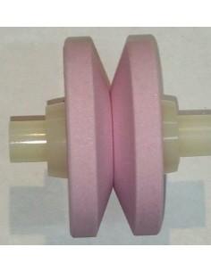 Rueda de ceramica rosa minoSharp 444