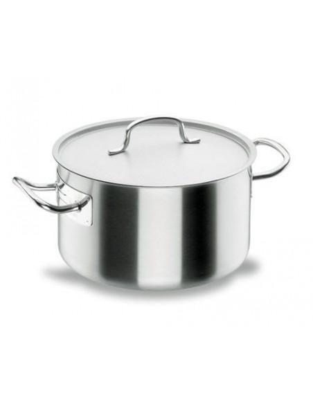 Cacerola Alta Lacor Chef Classic Inox