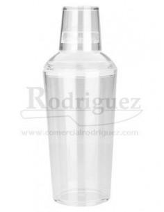 Coctelera acrilica de 750 cl con tapo y filtro