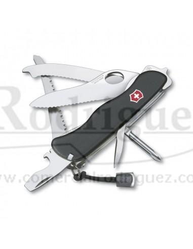 Navaja Suiza Victorinox Rescue Tool, 14 funciones (0.8623.MW.3) color negro