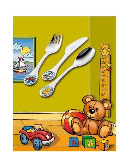 Juego cubierto infantil, 3 pzas. Zwilling modelo Toys