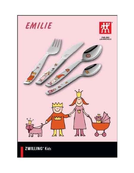 Caja Juego cubierto infantil, 4 pzas. Zwilling modelo EMILIE