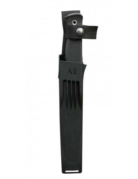 CUCHILLO   A1 - VG10 Negro en F/ Zytel