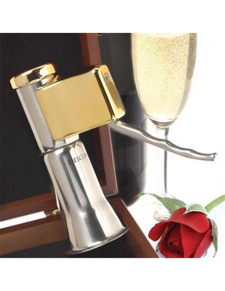Descorjet Sacacorchos automático de una sola mano para abrir botellas de cava o champán