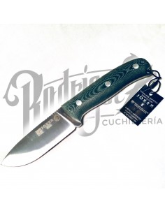 CUCHILLO URSUS PUÑO MICARTA CANVAS VERDE C/PERDERNAL H/10 CM (CV116-1)
