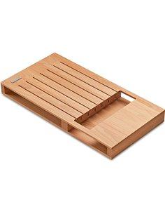 Bloque madera de cuchillos para cajón