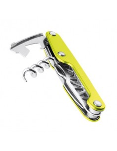 Leatherman Juice CS3 verde semiabierta