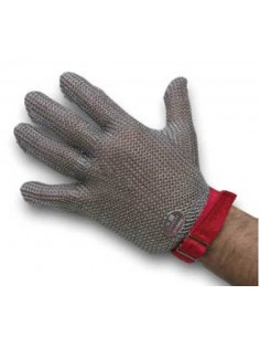 Niroflex Guante 5 dedos de malla metalica gruesa