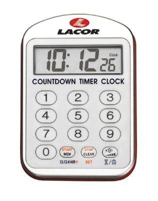 Reloj de cocina con alarma Lacor 60804