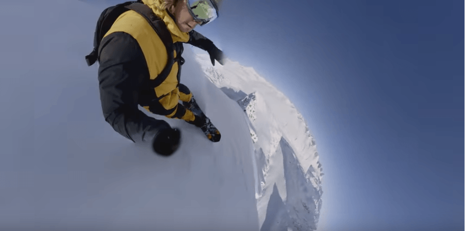 La cuarta fase\', la impactante película del snowboarder Travis Rice