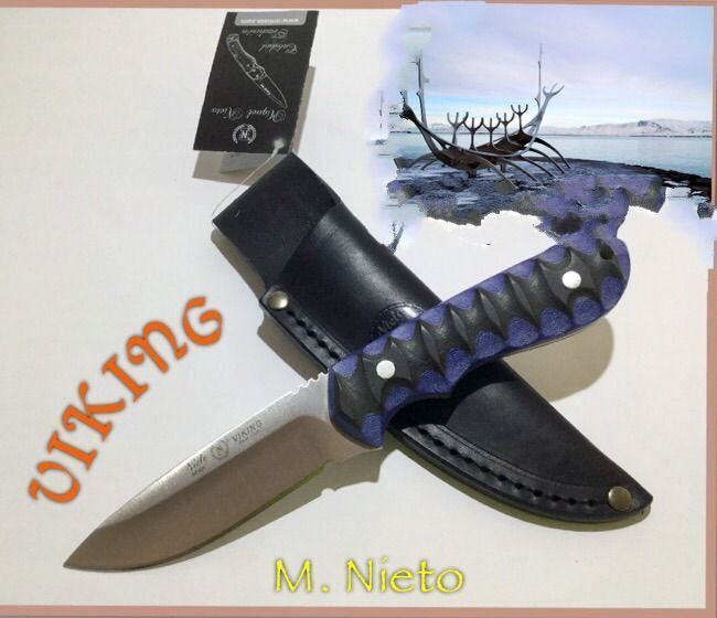 Cuchillo Miguel Nieto Viking