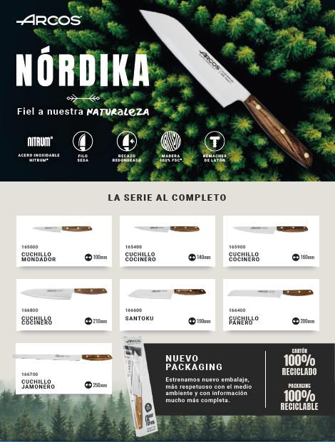 Nueva Serie de cuchillos Arcos Nórdika